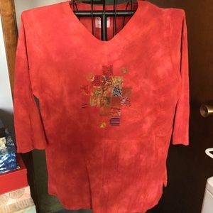 Nice Woven Top by NuVue  NWOT